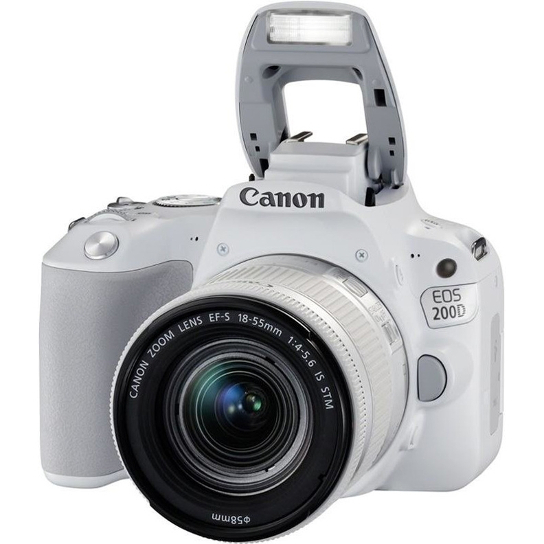 Canon EOS 200D Kit 18-55 is STM White (РСТ)